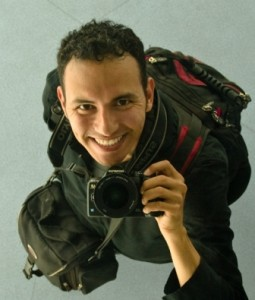 This is me when backpacking with my camera (Jesús Rosas)