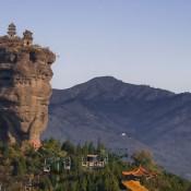 Shuangta Shan, twin peaks in China