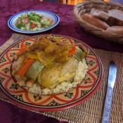 Moroccan couscous photographed by Jesús Rosas