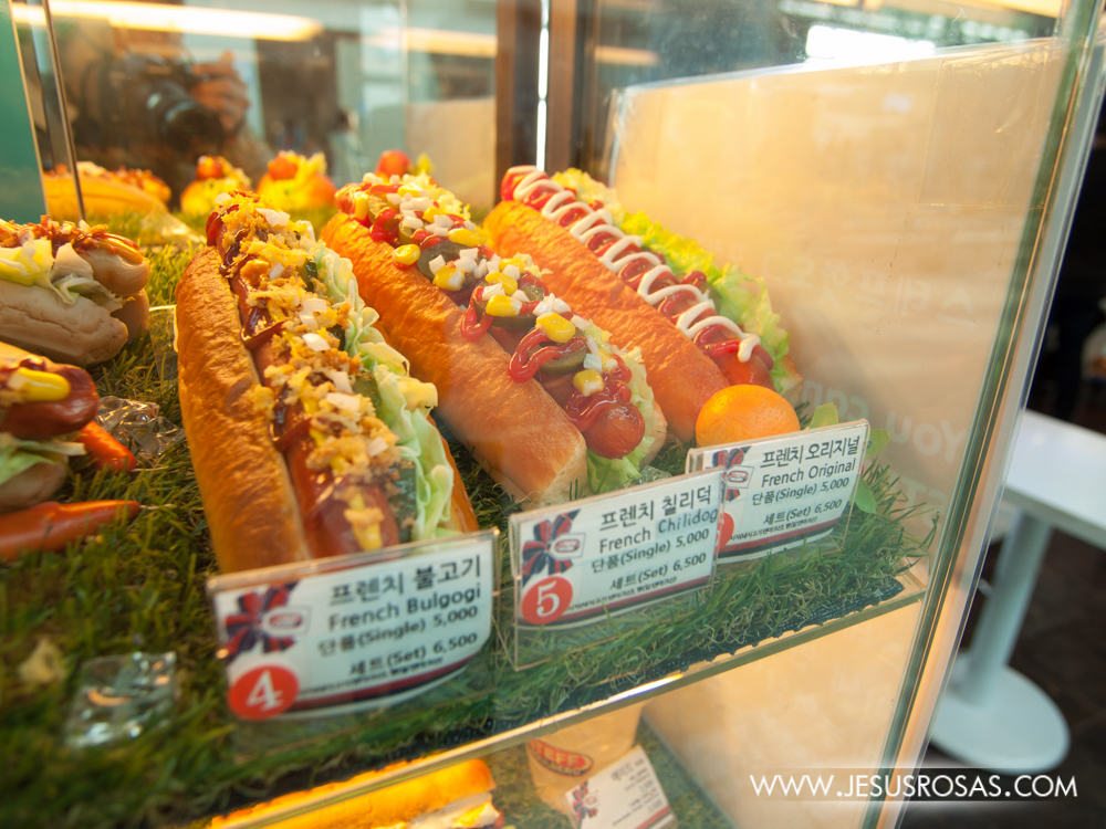 "But of course, there are also Western influences around the world and Seoul is not exempt from it. Here are some hot dogs including ""French"" hot dogs."