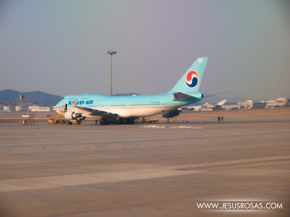 And here it is the Korean Air one of the top airlines in Asia.
