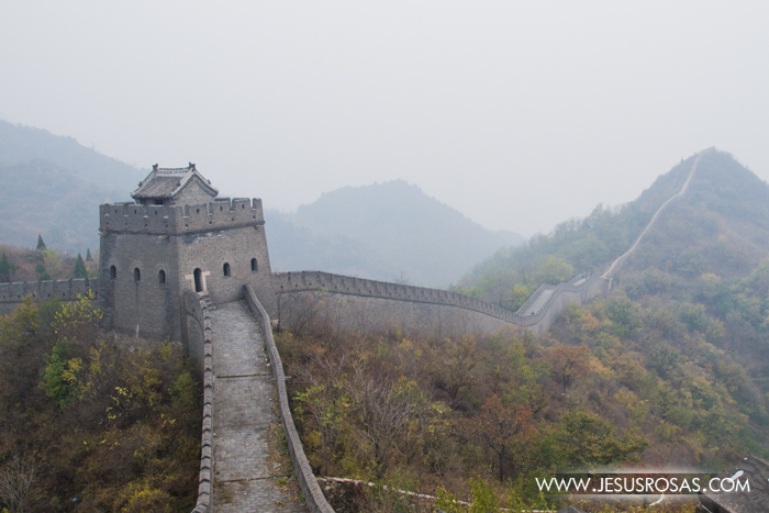 Another tower built in the Great Wall.