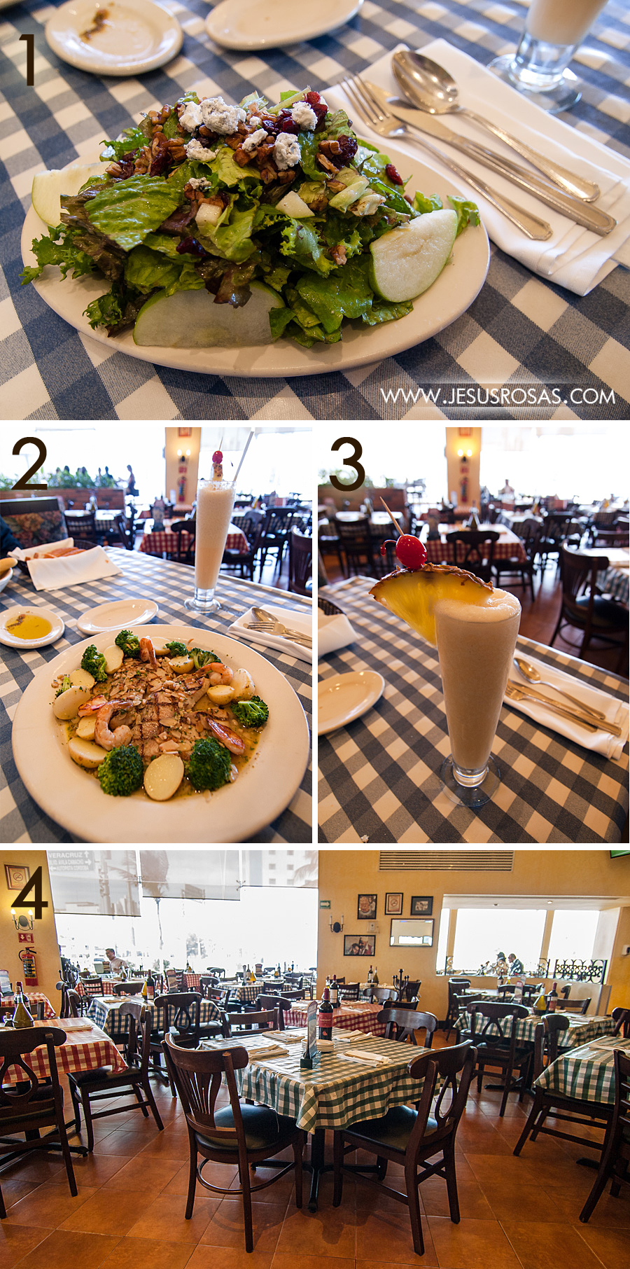 restaurante-italiannis-veracruz-mexico-pescado-ensalada-salad-fish