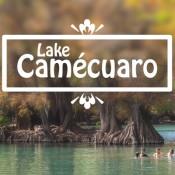Image of Lake Camécuaro in Tangancícuaro, Michoacán, México.