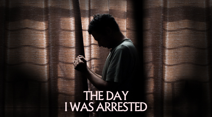 My silhouette portraying the day I was arrested by mistake.