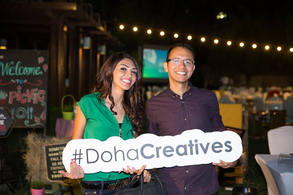 At a Doha Creatives event in Qatar. Picture by Doha Creatives staff.