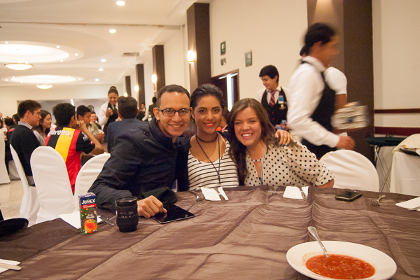 At a young single adults conference in Leon, Mexico