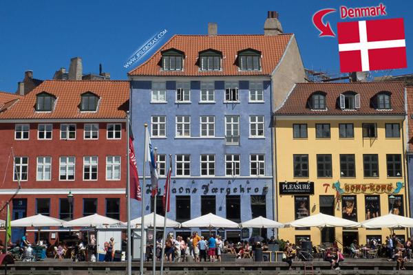 Here's one of the most famous landmarks of Copenhagen, Denmark.