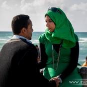 Una tarde romántica en Alejandría, Egipto. 2009.