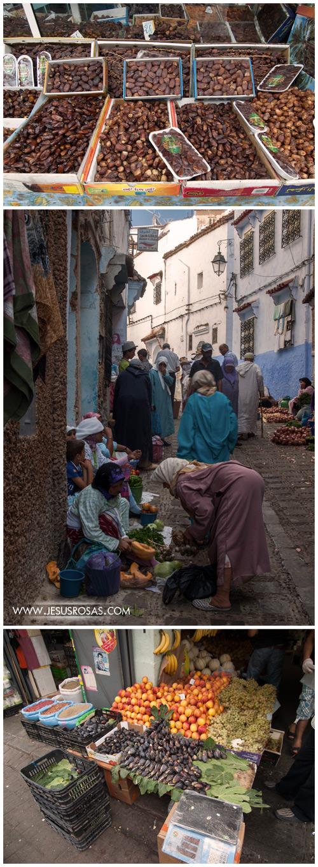 Mi recorrido por las calles en varias ciudades de Marruecos siempre incluyó una abundancia de higos, dátiles y otras frutas.