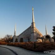 Templo de Seúl en Corea del Sur. La Iglesia de Jesucristo de los Santos de los Últimos Días. Iglesia mormona. Foto por Jesús Rosas.