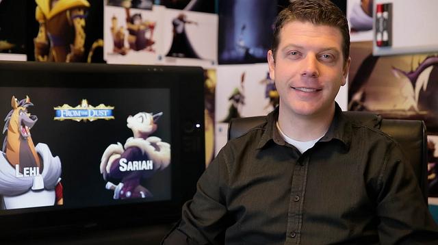 Micheal Mercer creció en Atlanta, Georgia y sirvió una misión de la Iglesia de Jesucristo de los Santos de los Últimos Días en las islas Filipinas. Se graduó de la Universidad de Brigham Young en una carrera de animación y desde entonces trabaja en la industria del entretenimiento como artista conceptual, de animación y gráficos animados.