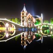 Tai'erzhuang, Shandong, China. Poblado de agua. Water town.
