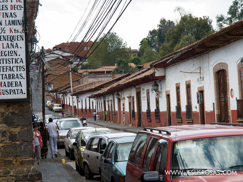 Image of a street in Pátzcuaro