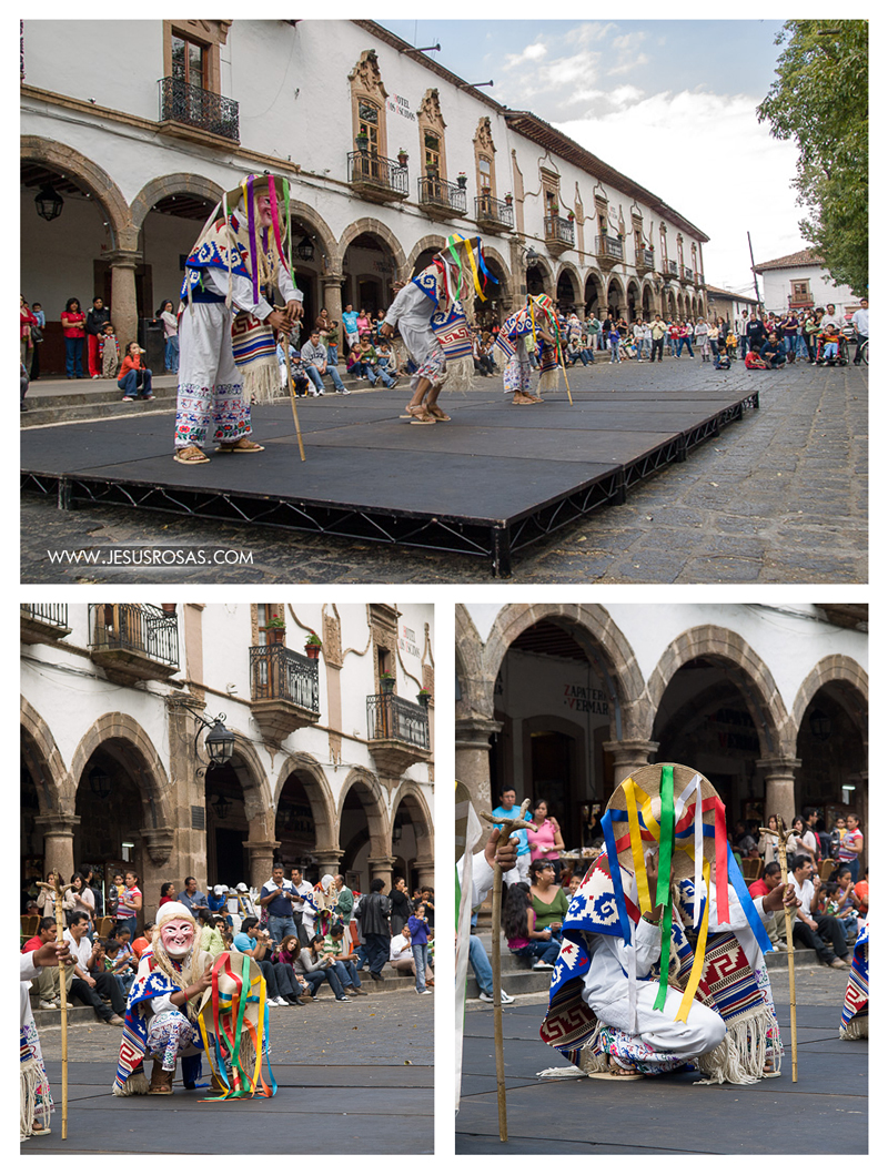 Images of the danza de los viejitos