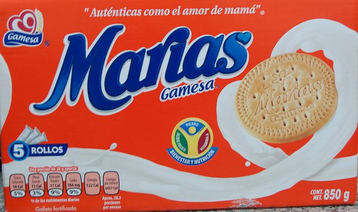 Galletas Marías marca gamesa