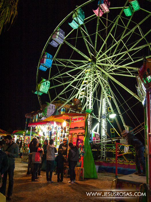 Durante las fiestas del Día de Reyes hay una pequeña feria de juegos mecánicos principalmente para niños