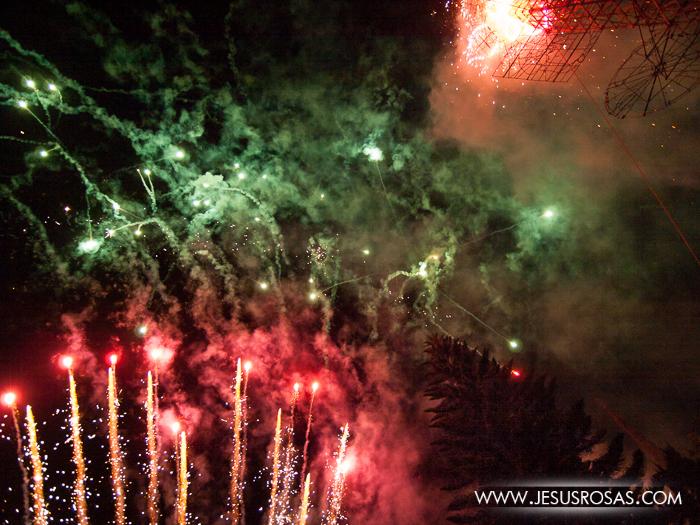 Fireworks in Cajititlan, Tlajomulco, Jalisco, Mexico.