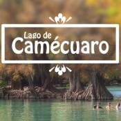Imagen del Lago de Camécuaro en Tangancícuaro, Michoacán, México.