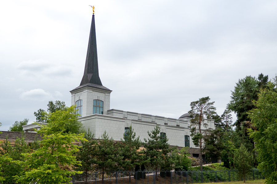 Here's the Helsinki Temple of The Church of Jesus Christ of Latter-day Saints.