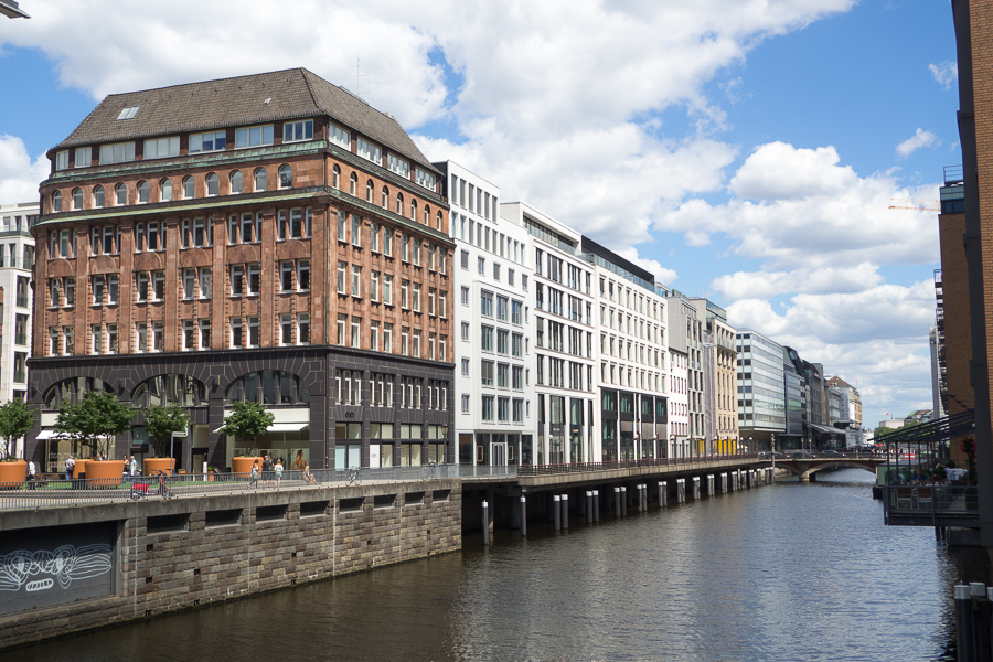 Here's Hamburg, Germany. I didn't do much here except window shopping, lol. Also, as a curious note, some say that Hamburg is the city with the most bridges in the world.